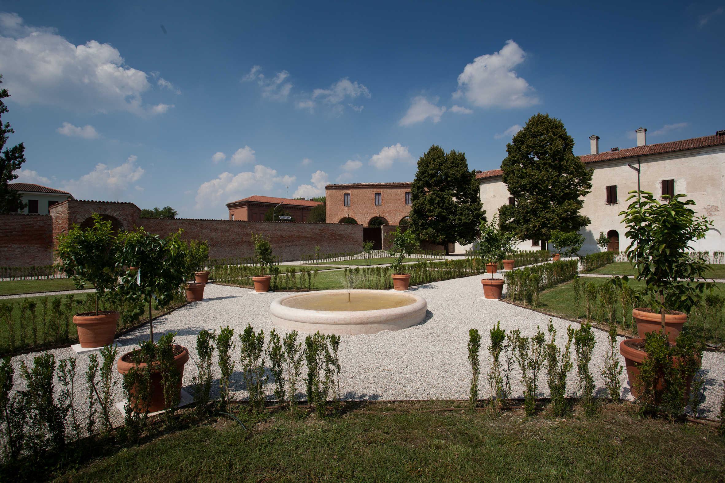 Recupero dei giardini di Palazzo Giardino - Sabbioneta (MN)