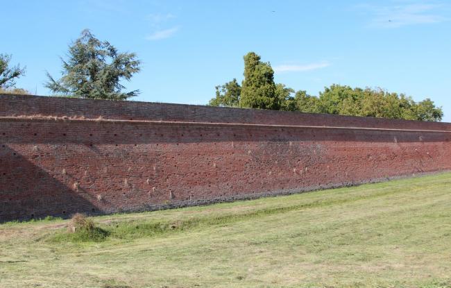 Restauro mura gonzaghesche - Sabbioneta (MN)